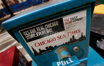 シカゴ有力紙
