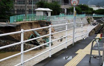榎川 氾濫
