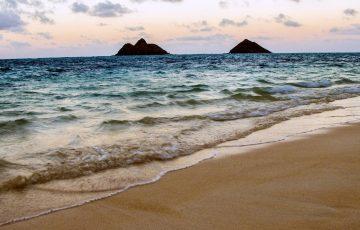 ハワイの小島